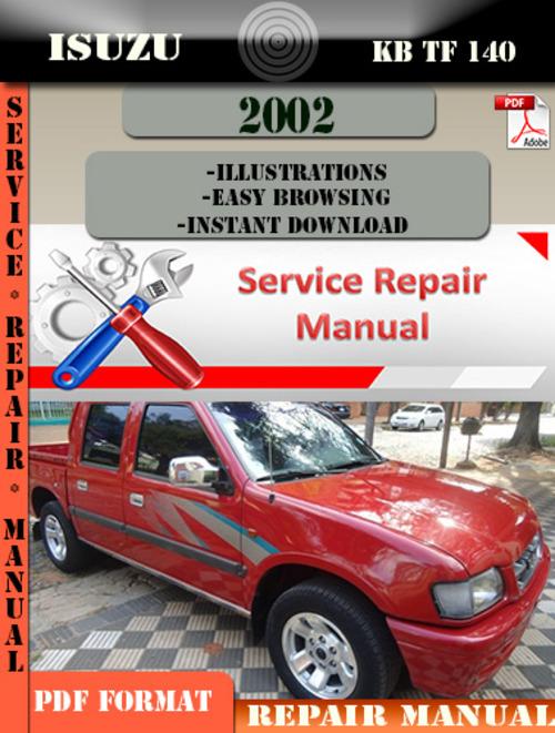 Pay for Isuzu KB TF 140 2002 Digital Factory Repair Manual