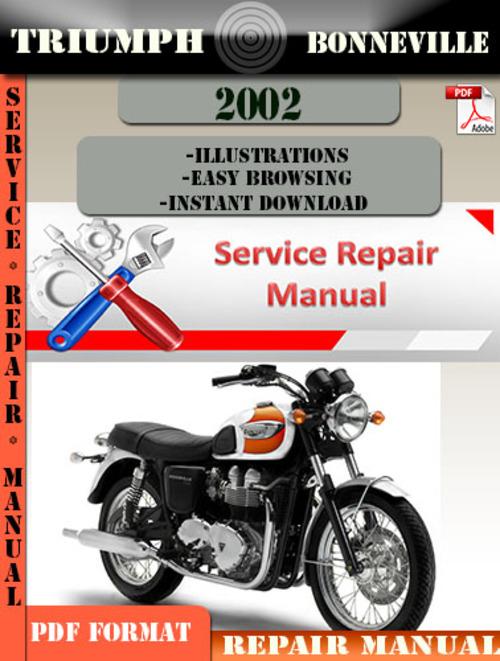 triumph bonneville 2002 digital repair manual download manuals a rh tradebit com 2002 Triumph Bonneville America Parts 2002 Triumph Bonneville America Specs
