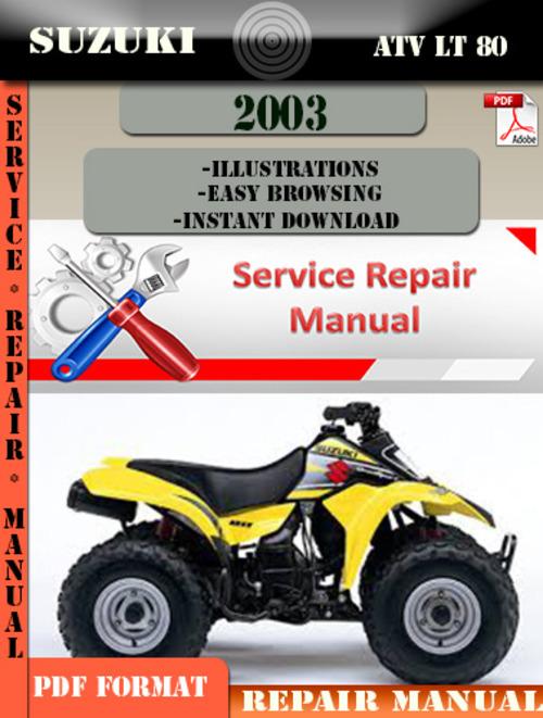 Suzuki lt80 owners manual download pdf