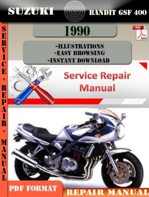 Gsf 400 Manual download