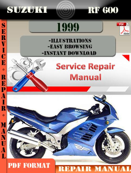 Free Suzuki RF 600 1999 Digital Service Repair Manual Download thumbnail