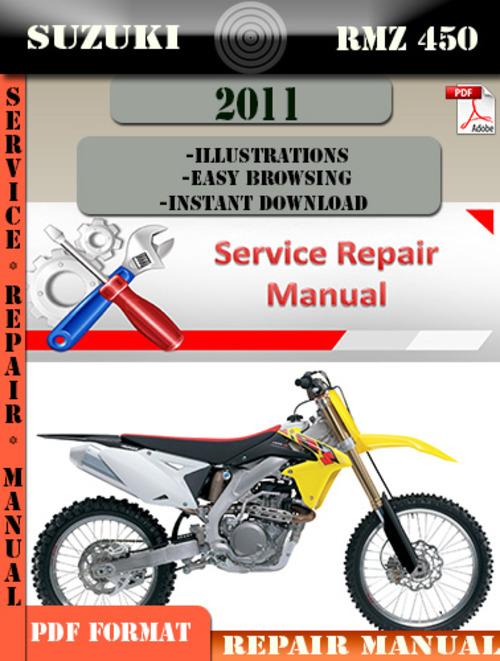 Suzuki Rmz  Service Manual Download