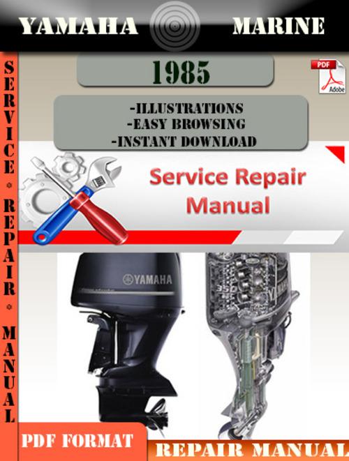 yamaha marine 1985 digital repair manual