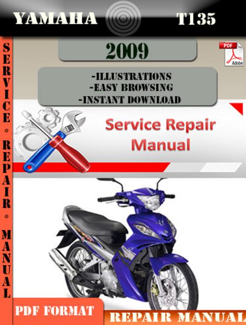 yamaha t135 t135s t135se 2005 2009 service repair manual