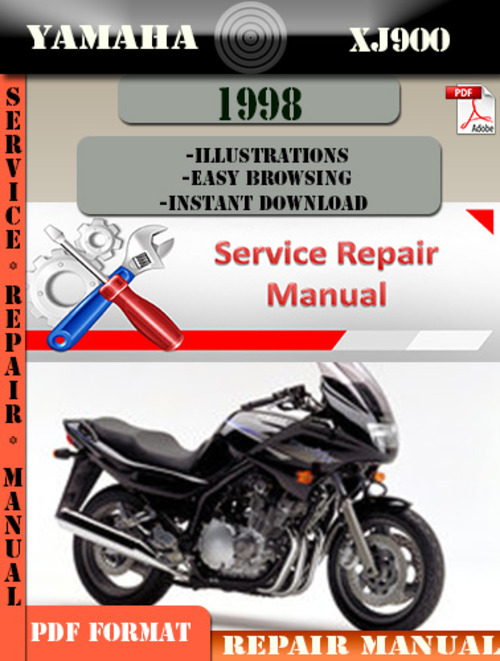 yamaha xj900 1998 digital service repair manual download. Black Bedroom Furniture Sets. Home Design Ideas