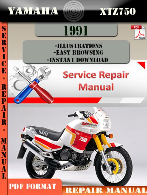 yamaha xtz750 1991 digital service repair manual. Black Bedroom Furniture Sets. Home Design Ideas