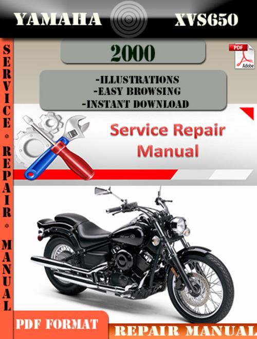 yamaha xvs650 2000 digital service repair manual. Black Bedroom Furniture Sets. Home Design Ideas