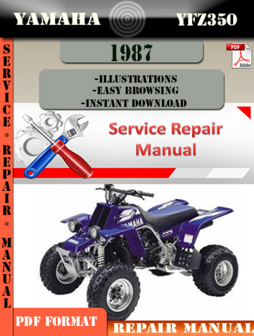 Yamaha Yfzr Shop Manual