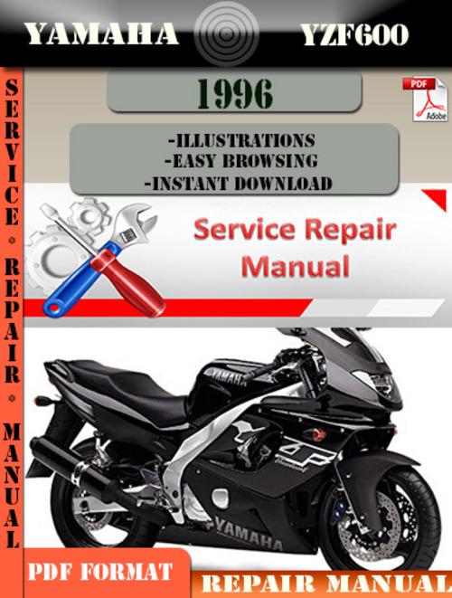 yamaha yzf600 1996 digital service repair manual. Black Bedroom Furniture Sets. Home Design Ideas