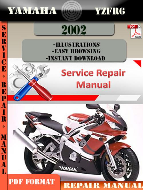 Yamaha Yzfr6 2002 Digital Service Repair Manual