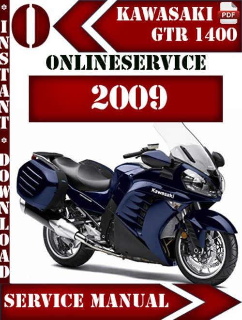 Pay for Kawasaki 1400 GTR 2009 Digital Service Repair Manual