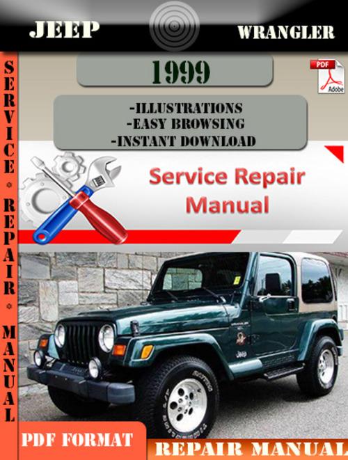 Jeep Wrangler 1999 Digital Service Repair Manual