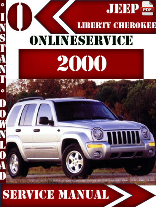 jeep liberty cherokee 2000 digital service repair manual. Black Bedroom Furniture Sets. Home Design Ideas