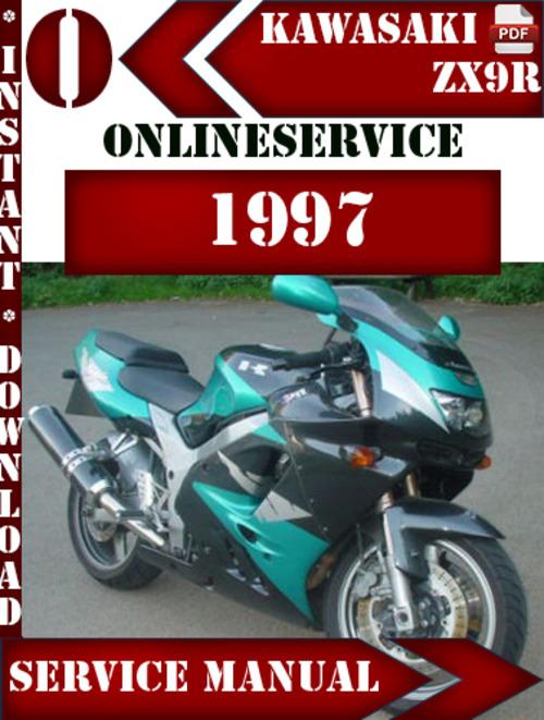 kawasaki zx9r 1997 digital service repair manual download manuals rh tradebit com kawasaki zx9r manual pdf kawasaki zx9 manual