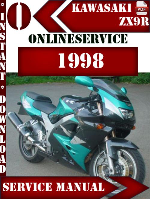 kawasaki zx9r 1998 digital service repair manual download manuals rh tradebit com kawasaki zx9r 1998 manual Kawasaki ZX7