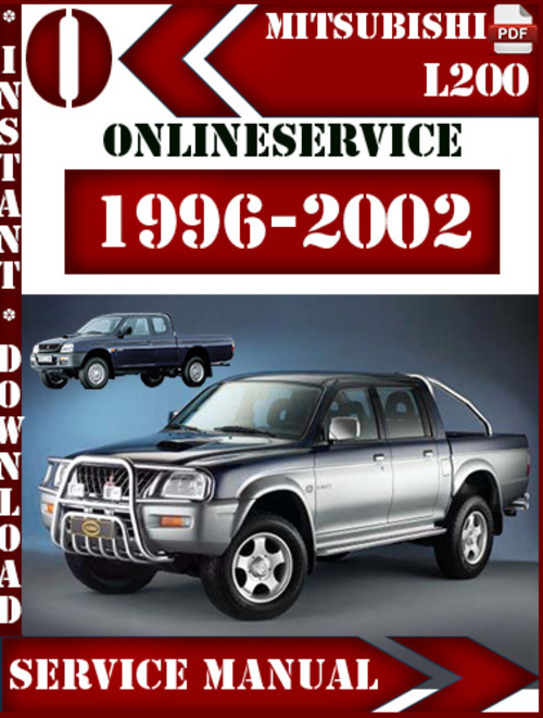 mitsubishi l200 1996 2002 digital service repair manual Samsung L200 Samsung L200