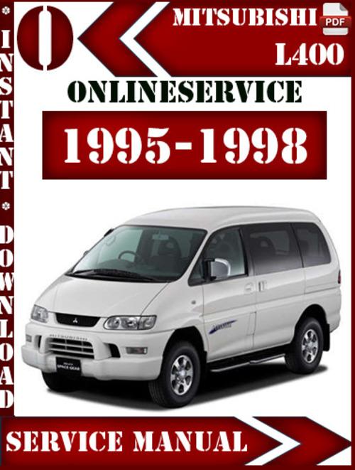 Free Mitsubishi L400 1995-1998 Service Repair Manual Download thumbnail