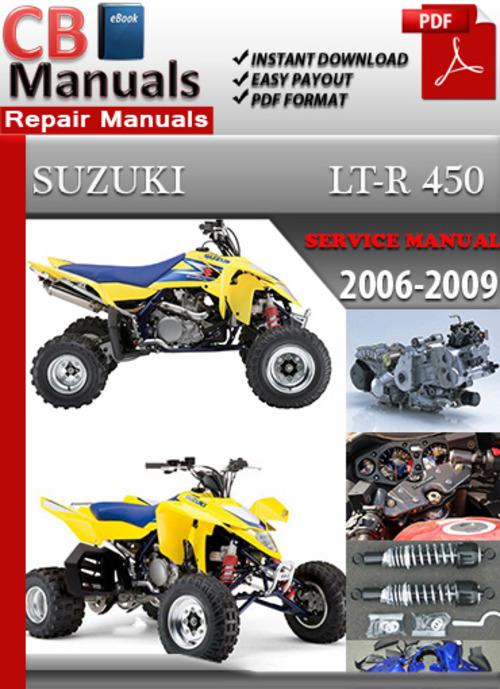 2007 Suzuki Ltr 450 Repair Manual