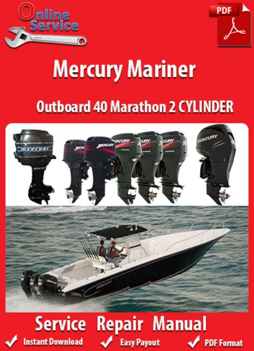 Free Mercury Mariner 40 Marathon 2 CYLINDER Service Manual Download thumbnail