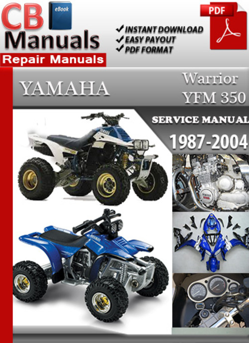 yamaha yfm 350 warrior 1987 2004 online service manual download m rh tradebit com 2004 yamaha warrior 350 owners manual yamaha warrior 350 repair manual pdf