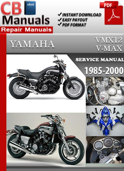 yamaha vmx12 2002 repair service manual