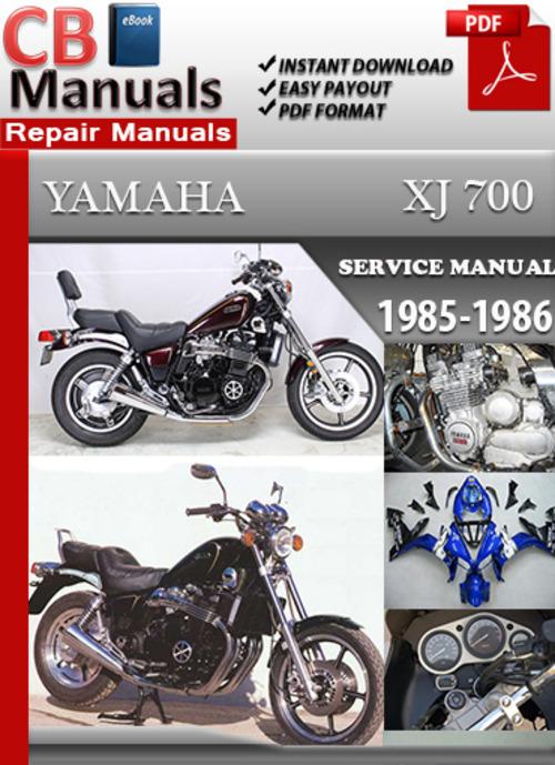 Yamaha XJ 700 1985-1986 Online Service Repair Manual on
