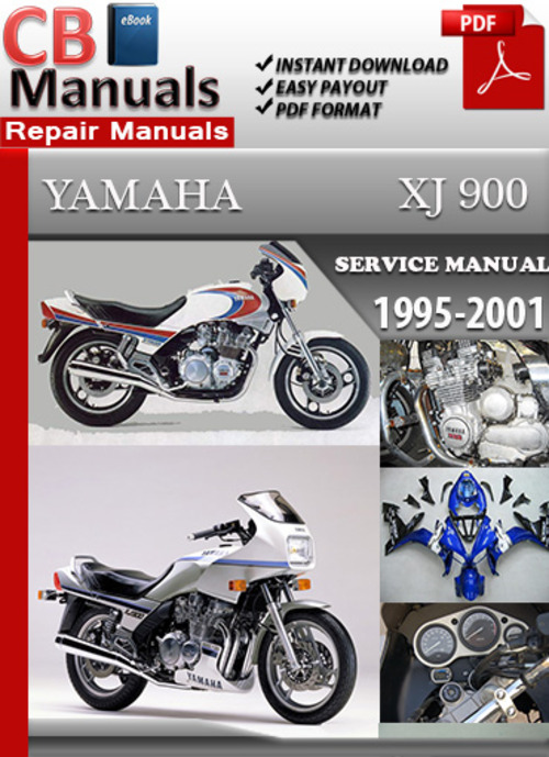 yamaha xj 900 1995 2001 online service repair manual download man rh tradebit com manual yamaha xj 900 diversion manual yamaha xj 900 diversion