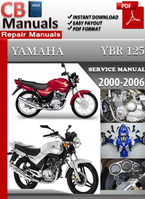 yamaha ybr 125 2000 2006 online service repair manual Yamaha YBR Alloy Wheel 2013 Yamaha 125 YBR Custom