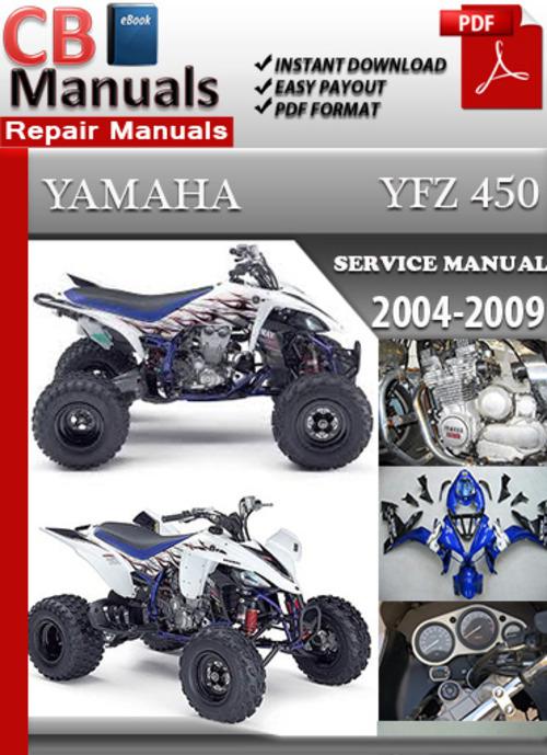 Yamahayfz Servicerepairmanual on 2005 Yfz 450 Problems