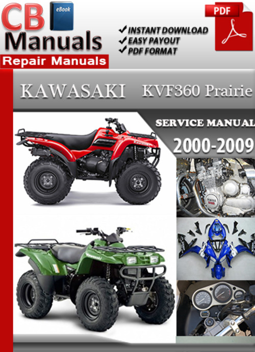 Free 2004  Kvf 700 Service