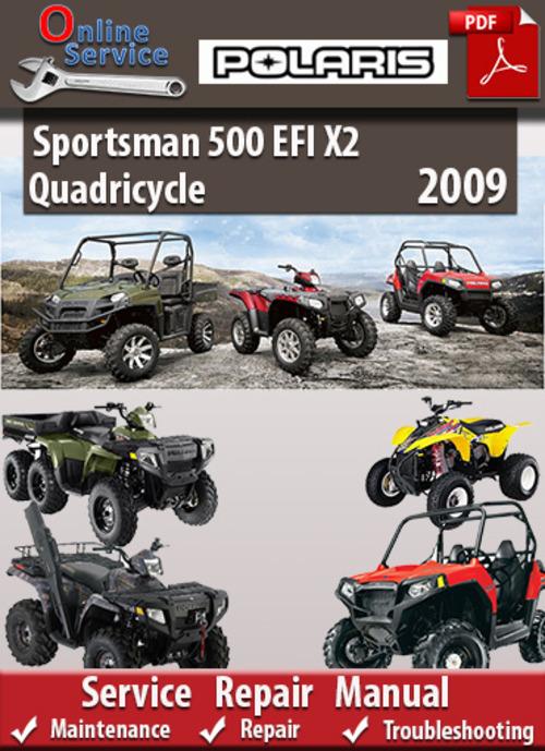 Free Polaris Sportsman 450 500 X2 Service Manual 2007