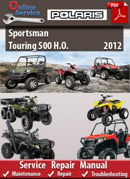 Free Polaris Sportsman Touring 500 H.O 2012 Online Service Manual Download thumbnail