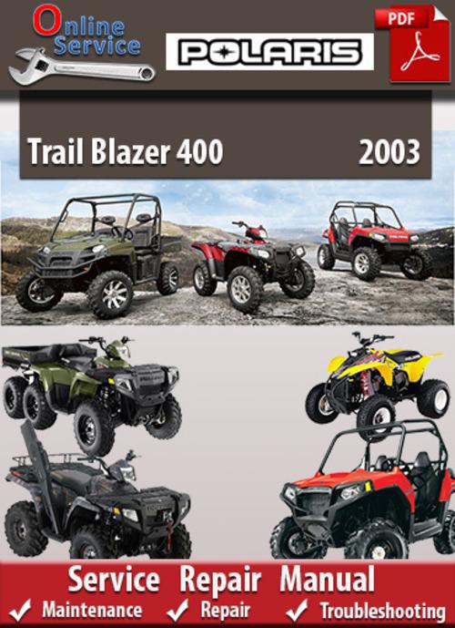 polaris trail blazer 400 2003 online service repair manual