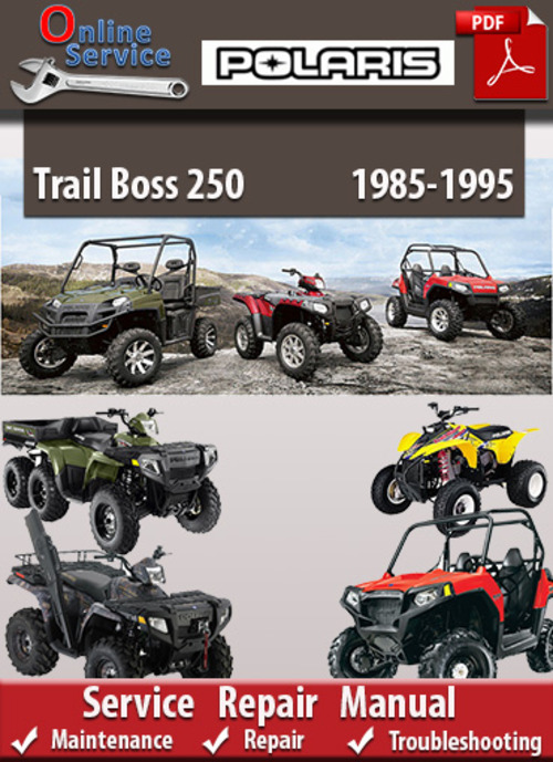 polaris trail boss 250 1985 1995 online service manual download m rh tradebit com Polaris Trailblazer 250 Wiring Diagram Polaris 250 Trailblazer Engine