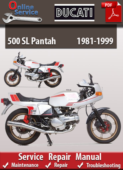 ducati 500 sl pantah 1981 1999 online service repair. Black Bedroom Furniture Sets. Home Design Ideas