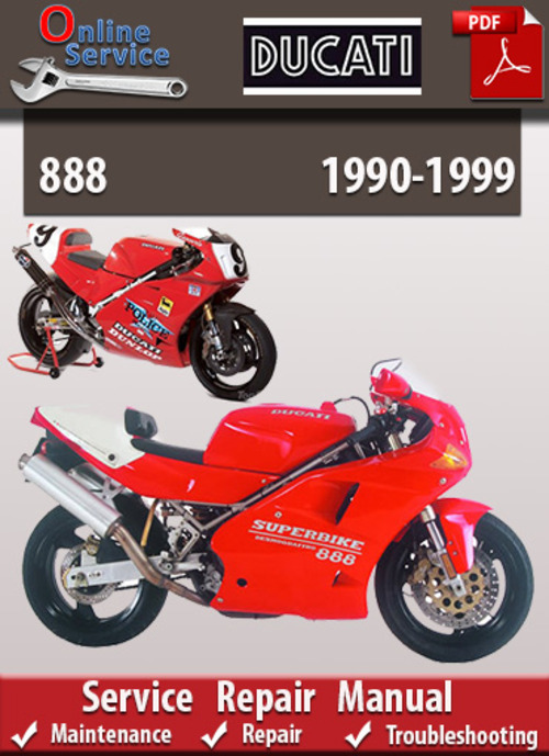 ducati 888 1990 1999 online service repair manual. Black Bedroom Furniture Sets. Home Design Ideas