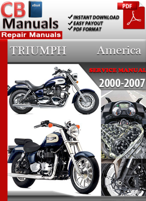 Pay for Triumph America 2000-2007 Online Service Repair Manual