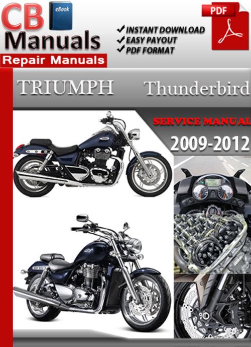 Triumph Thunderbird 2010 Service manual Exmark lazer z