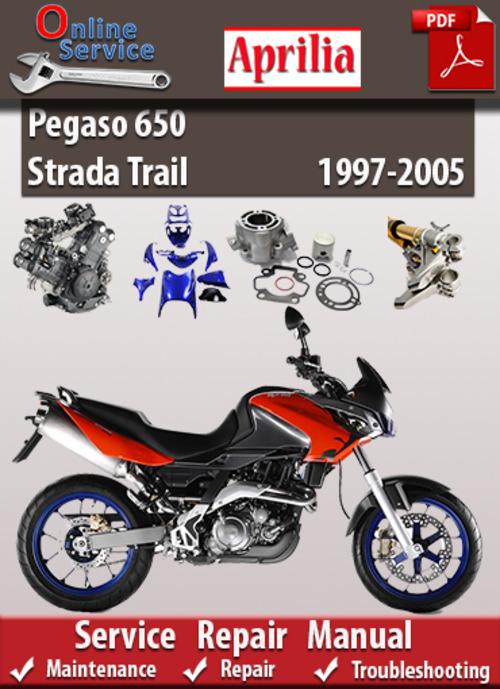 Aprilia Pegaso 650 Strada Trail 1997 2005 Service Manual Tradebit
