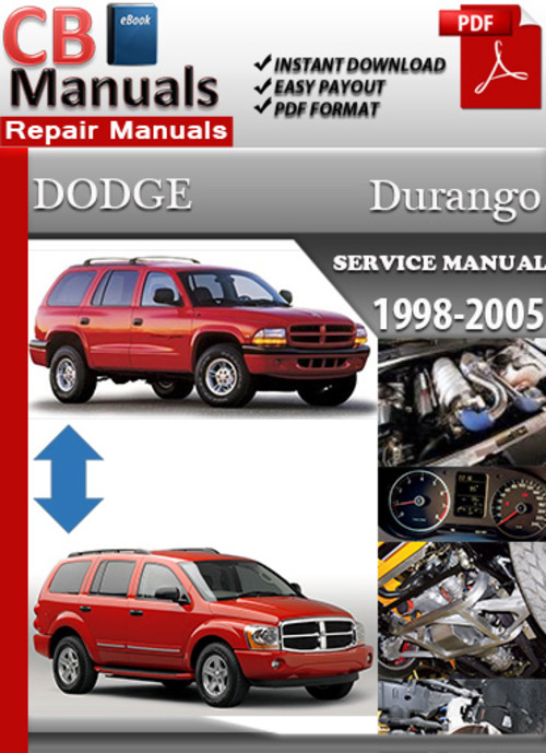 Pay for Dodge Durango 1998-2005 Online Service Repair Manual