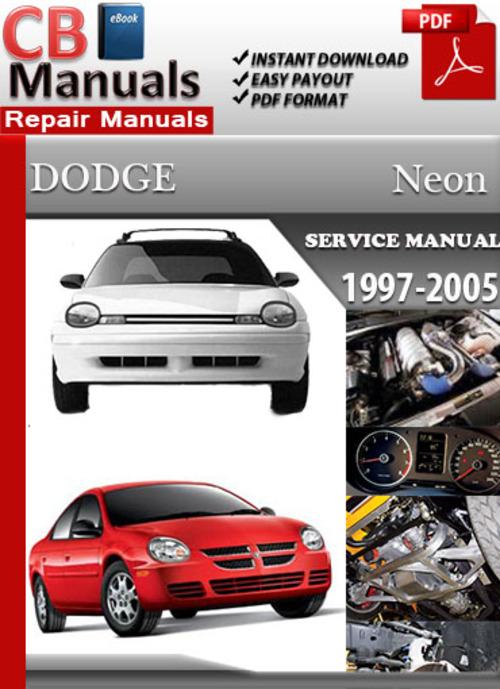 Dodge Neon 1997 2005 Online Service Repair Manual Tradebit