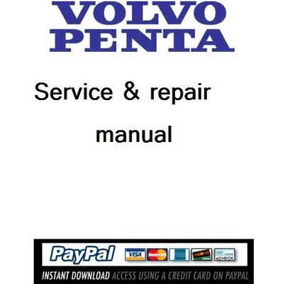 Download Service manual Volvo Penta drives 280, 290, 295