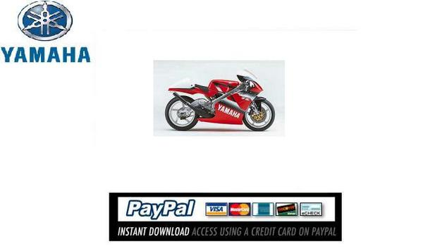 Pay for Download Service & repair manual Yamaha TZR250 2000