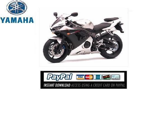 download service repair manual yamaha yzf r6 2003. Black Bedroom Furniture Sets. Home Design Ideas