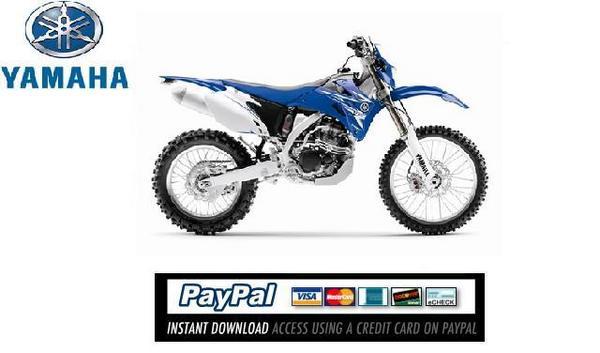 Download Service  U0026 Repair Manual Yamaha Wr250f 2009