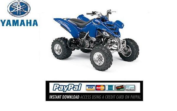 Pay for Download Service & repair manual Yamaha Raptor YFM660 2003
