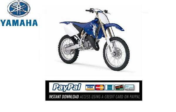 Pay for Download Service & repair manual Yamaha YZ125 2007