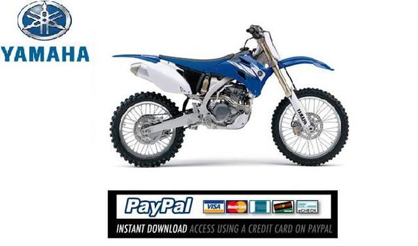Pay for Download Service & repair manual Yamaha YZ250 2006