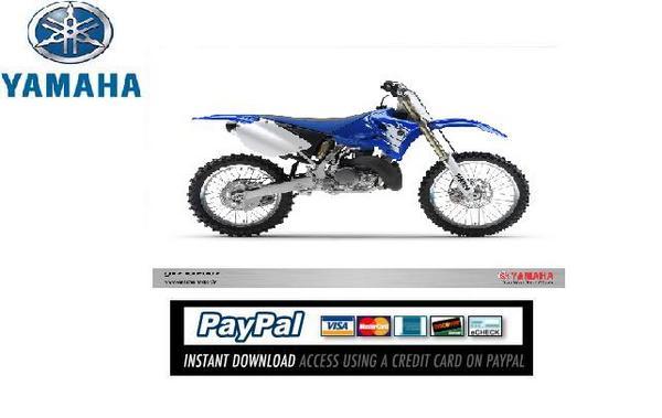 Download Service  U0026 Repair Manual Yamaha Yz250 2007