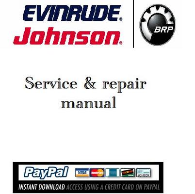 Pay for Download Service & repair manual Evinrude 40-60hp 2007